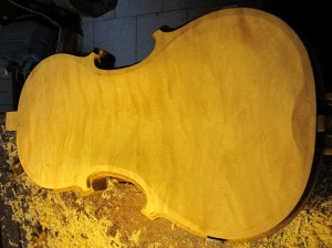 Thickness profile carving