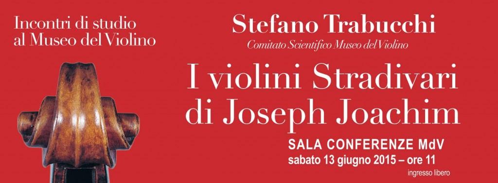 "Conferenza ""I violini Stradivari di Joseph Joachim"""